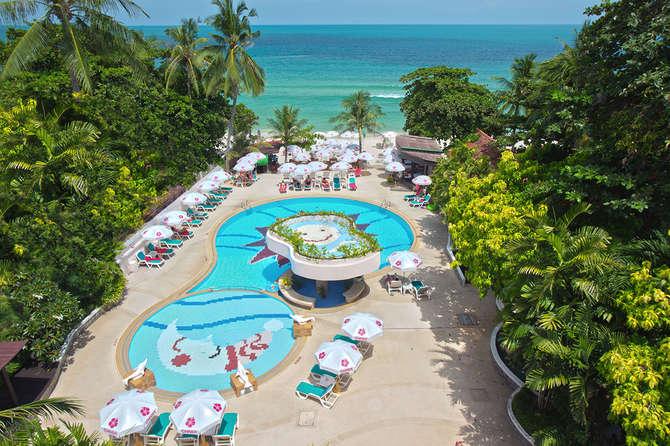 Chaba Samui Resort-januari 2021