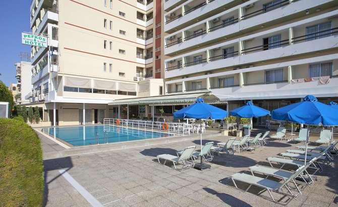 Pefkos Hotel-oktober 2021